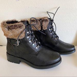 Torrid   Faux Fur Hiker Boots